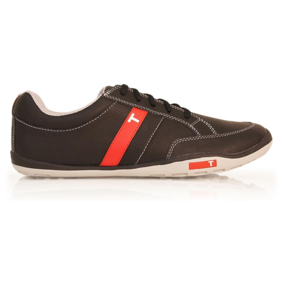 True Linkswear PHX - Mens Barefoot Golf Shoes - Black/Grey
